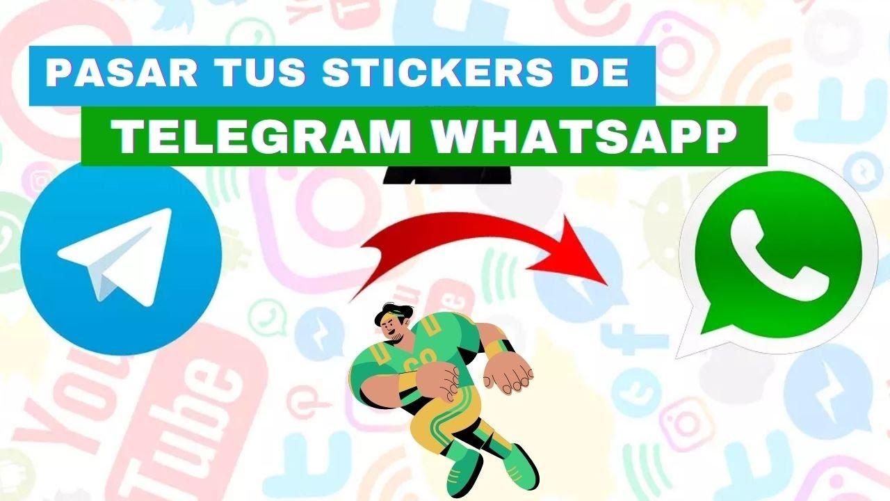 Como pasar tus Stickers de Telegram a Whatsapp
