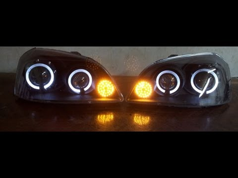 Chevrolet Optra Headlights Youtube