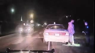 Officer Justin Terney dash cam video