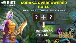 THE BEST HEALER IN WILD RIFT | Soraka Best Build | LoL WildRift