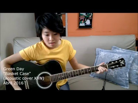 Green Day - Basket Case (acoustic cover KYN) + Chords in the description