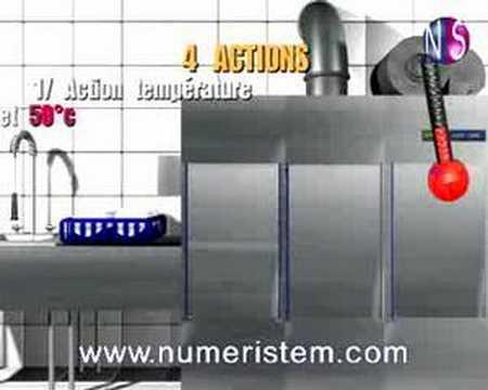 Assez Vidéo Formation HACCP-Le lave vaisselle (extrait) - YouTube XR57