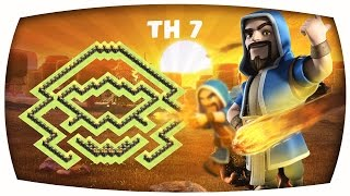 Clash of Clans - Epic TH 7 Troll/ClanWar/Trophy Base--The Magic Base--➞Speed Build