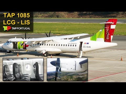 TRIP REPORT | TAP Air Portugal | A CORUÑA - LISBOA | ATR 72-600