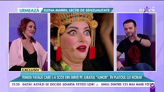 Veronica Gheorghe, femeia fatala care l-a scos din minti pe juratul ,,iUmor