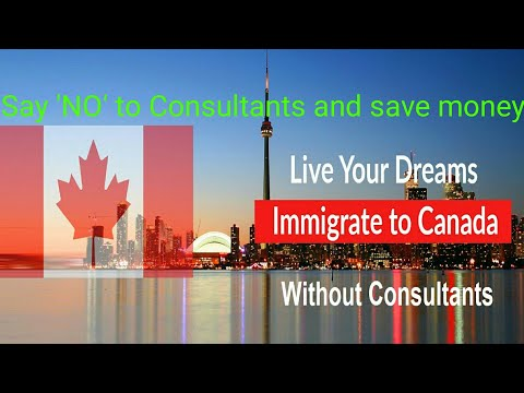 """Free Guide Canada Immigration Big """"No"""" to consultants"""