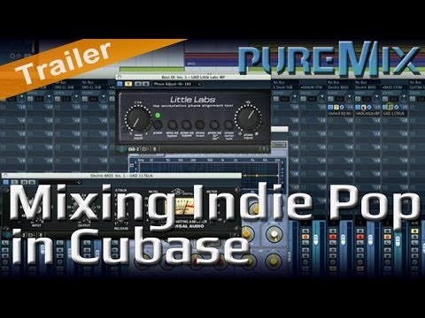 Mixing an Indie Pop Song in Cubase with Fab Dupont - Trailer
