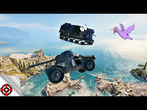 World Of Tanks - Funny Moments | PHYSICS FIESTA! (WoT Glitches & Physics Fails, December 2019)