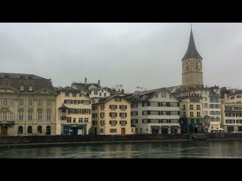 Zurich in the Rain