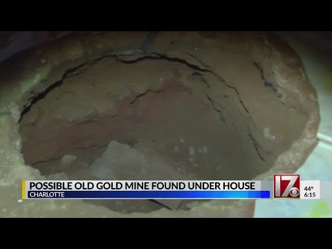 Abandoned Gold Mine Found Under NC Home, Expert Says