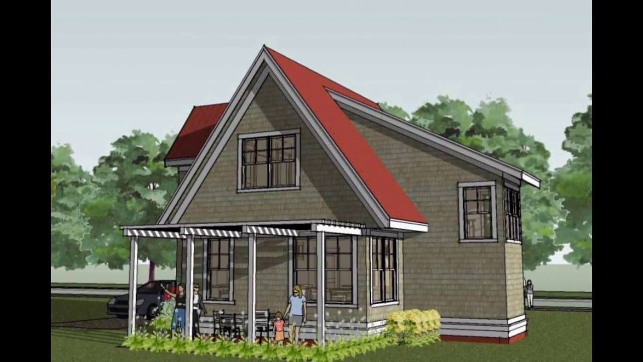 Small Cottage House Plans | Small Beach Cottage House Plans - YouTube