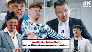 14# Vergleich: Deutsche | Türken | Ruṡsen - beim Chef