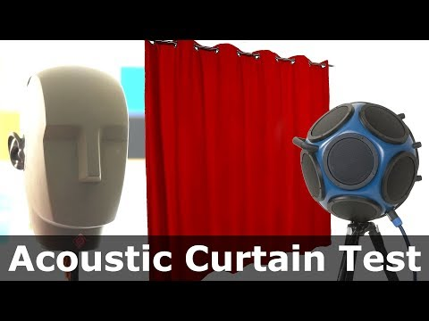 Five-Ply Acoustic Curtain Tested | HOFA-Akustik