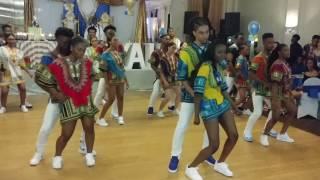 Niyah African Sweet 16 Dance