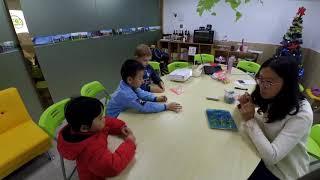 Пробное занятие по истории денег в Китайским филиале Kids MBA