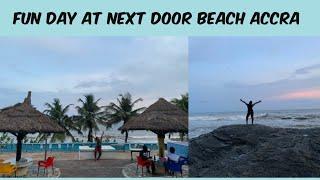 LIFE IN ACCRA GHANA - NEXT DOOR BEACH RESORT