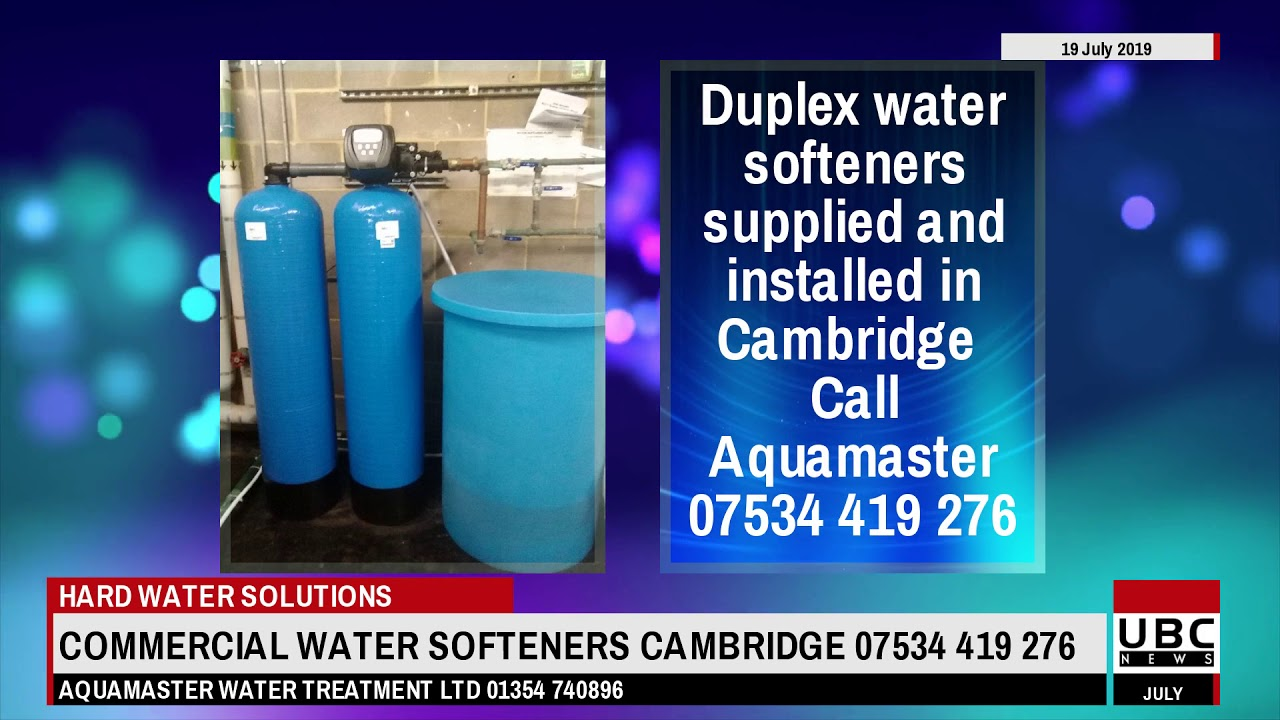 Commercial Water Softeners Cambridge
