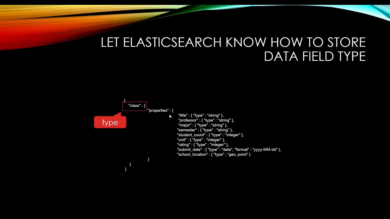 [ELK Stack] 07  Elastic Search (mapping, schema)