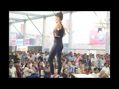 Models Dazzle in Indian Handicrafts at IHGF Delhi Fair Autumn 2017 Fashion Show