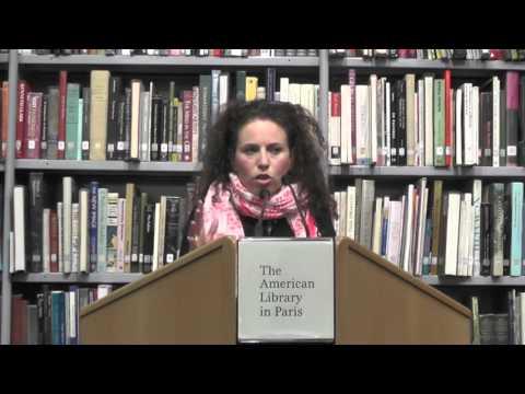Sarah Wildman @ The American Library in Paris | 27 October 2015