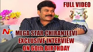 Mega Star Chiranjeevi Exclusive Interview with NTV | Chiru 60th Birthday Special | Chiru 150th Movie