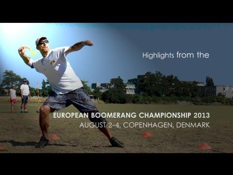 European Boomerang Championship 2013 Highlights
