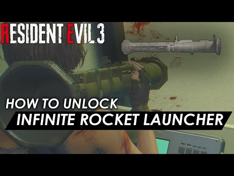 Resident Evil 3 - How to unlock Infinite Rocket Launcher Fast & Easy (Infinite Ammo Guide)