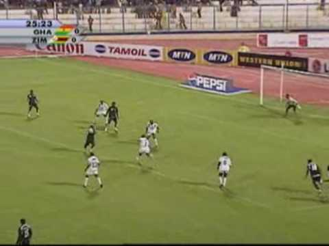 Ghana vs Zimbabwe - Africa Cup of Nations, Egypt 2006