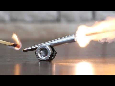 Mini Matchstick Cannon
