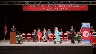 Dubuque Senior High School 2017 Commencement