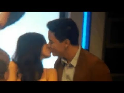 Alden and Maine KISSING!
