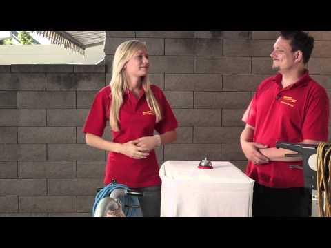 Video Die Parkettschleifgeräte - Rentas Werkzeugvermietung