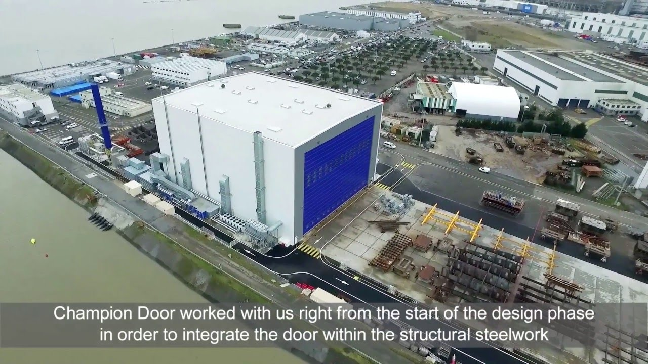 Ch&ion Door large shipyard doors & Champion Door large shipyard doors - YouTube