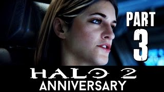 Halo 2 Anniversary Walkthrough Part 3 - METROPOLIS (Mission 5) Master Chief Collection - 60fps