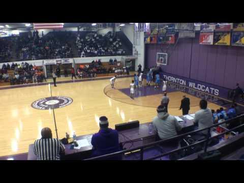 Thornton vs. Thornridge 1/22/16 - Curtis Dilworth 32pts