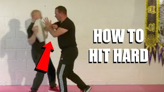 STOP YOUR ATTACKER WITH DEVASTATING POWER | Sifu Steven Burton