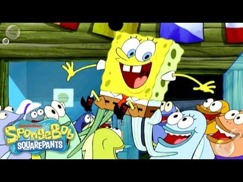 Spongebob Squarepants Victory Screech Patrick - 'I Love You'...