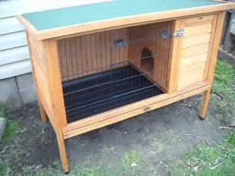 Video 22 rabbit hutch product review and modifications for How to make a bunny hutch