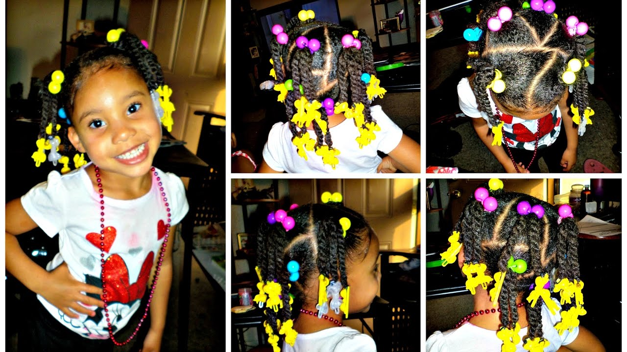 4 C Thick Toddler Hair Just Because She Was Requested Lol Youtube