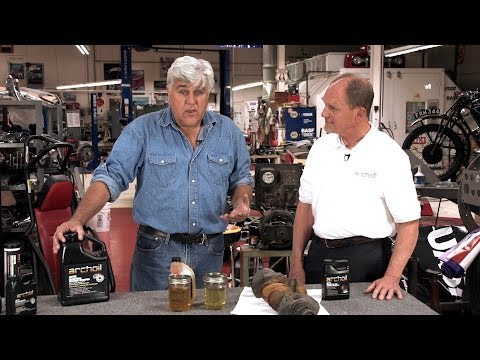 Nano Lubrication - Jay Leno's Garage