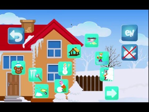 Oli and the Animals in Winter (our new educational app for kids)
