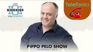 Radio KissKiss - Pippo Pelo Show - Caffè Di Merda (Scherzo Telefonico)