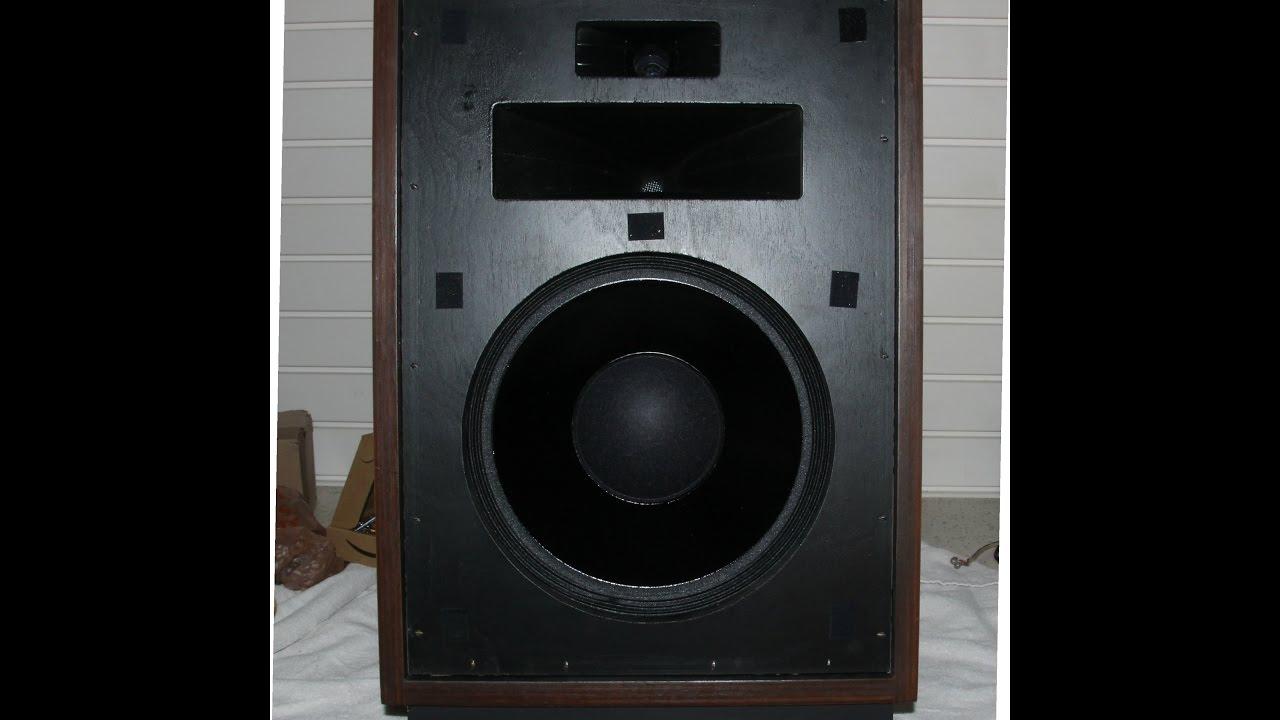 Klipsch Heresy 1 Speaker Rebuild and Update Project - pt 1