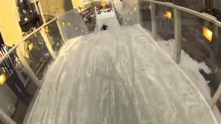 Red Bull Crashed Ice Girls Practice- Quebec City 2013 (long version)