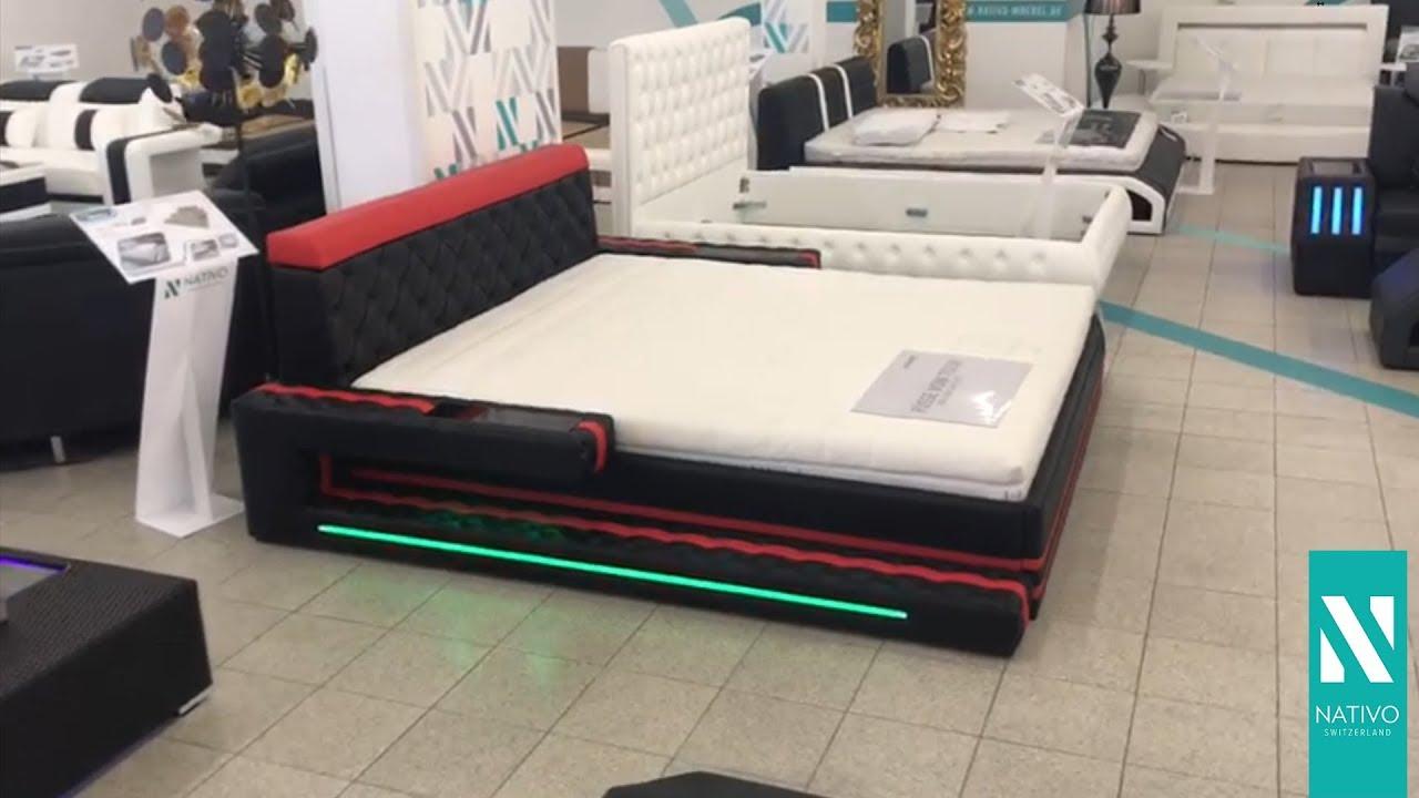 Bed Met Led Verlichting.Nativo Meubelen Nederland Design Bed Imperial Met Led Verlichting