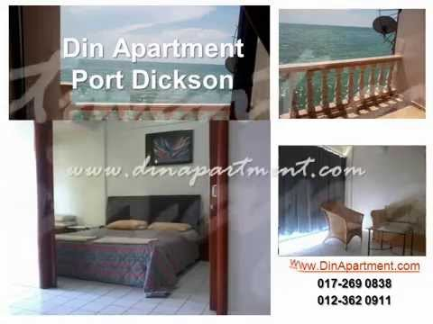 Studio Apartment Untuk Disewa din apartment beach resort port dickson - youtube