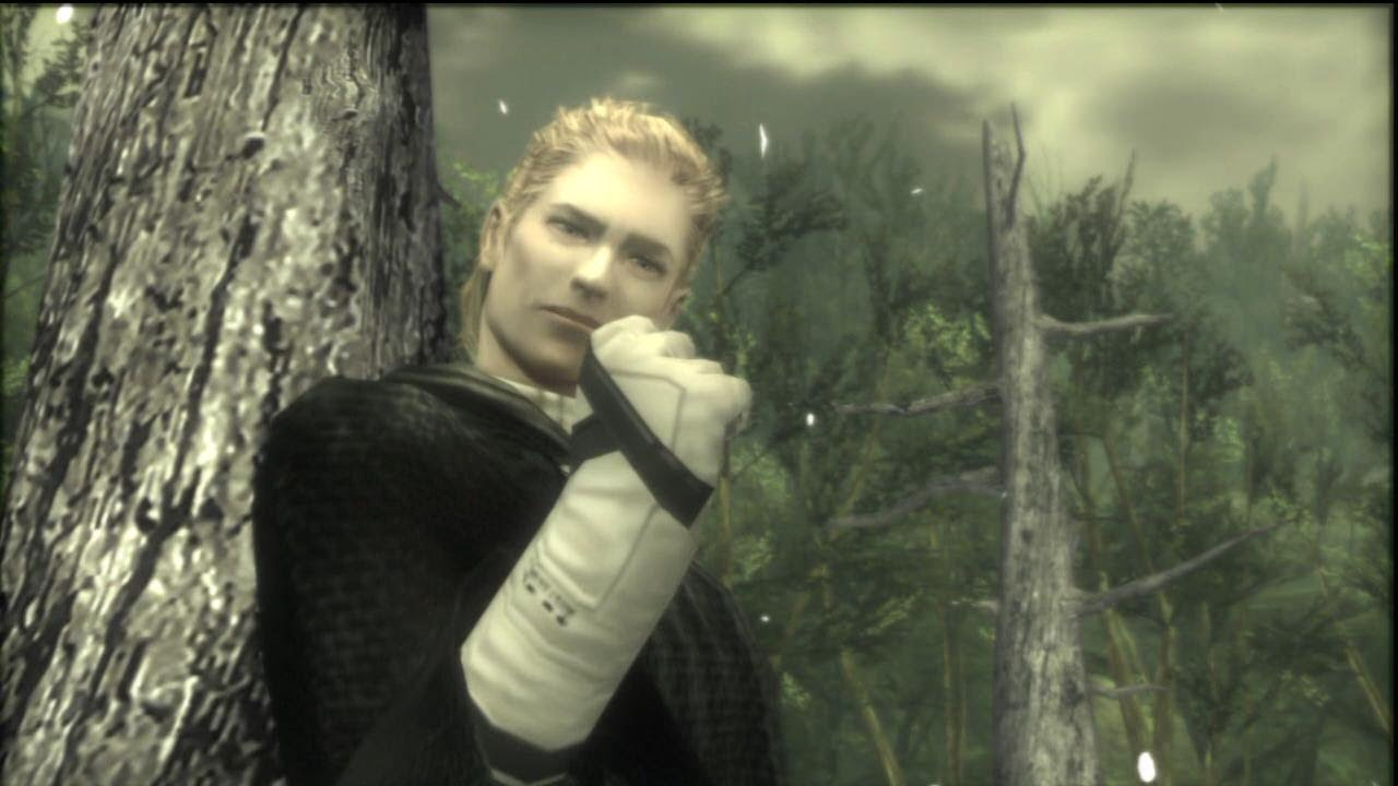 """Image result for the Boss """"Metal Gear Solid 3: Snake Eater"""""""