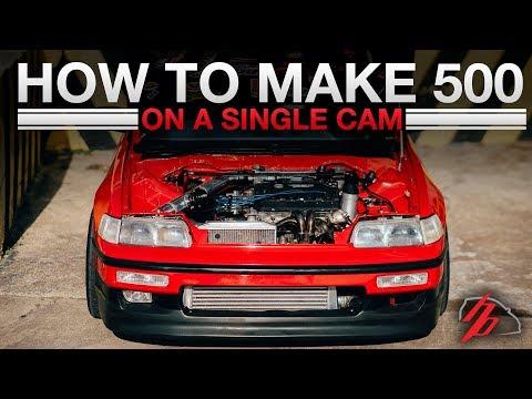 Breaking Down The Ebay Turbo 500HP Single Cam D16 CRX
