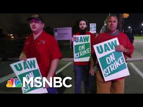 UAW Local 22 President On General Motors Strike: 'We Need Job Security' | Velshi & Ruhle | MSNBC