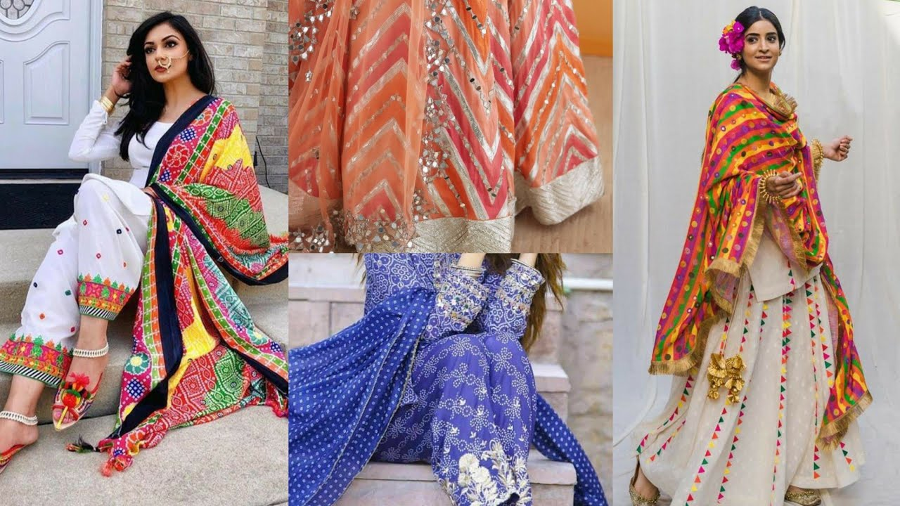 Pure Georgette & Lawn Eid Dress Collection With gotta & Foil Mirror Work/ Embroidered Dress